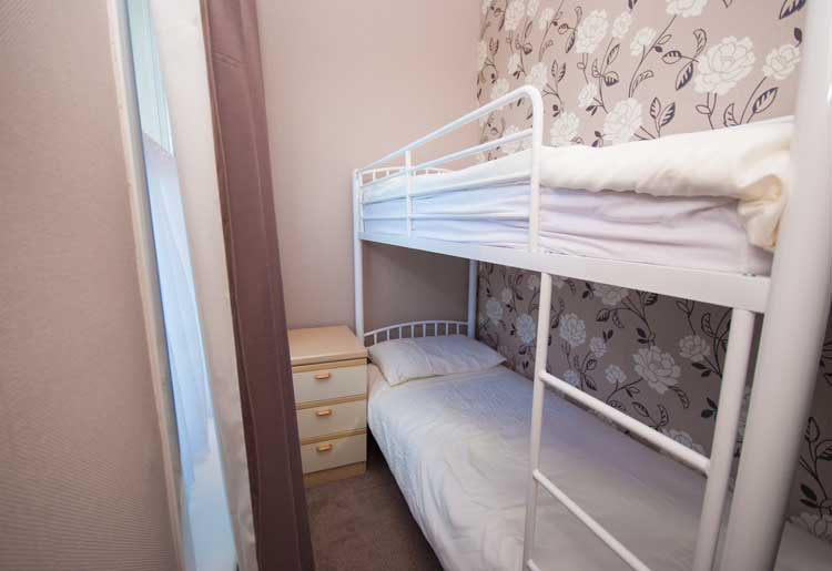 Bunk bed - part of family suite